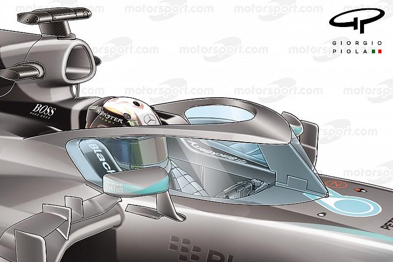 F1 considera adicionar painel de vidro em cockpit fechado