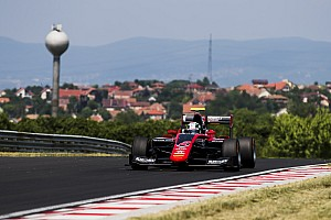 GP3 Testing report Fukuzumi tops second day of Hungaroring GP3 test