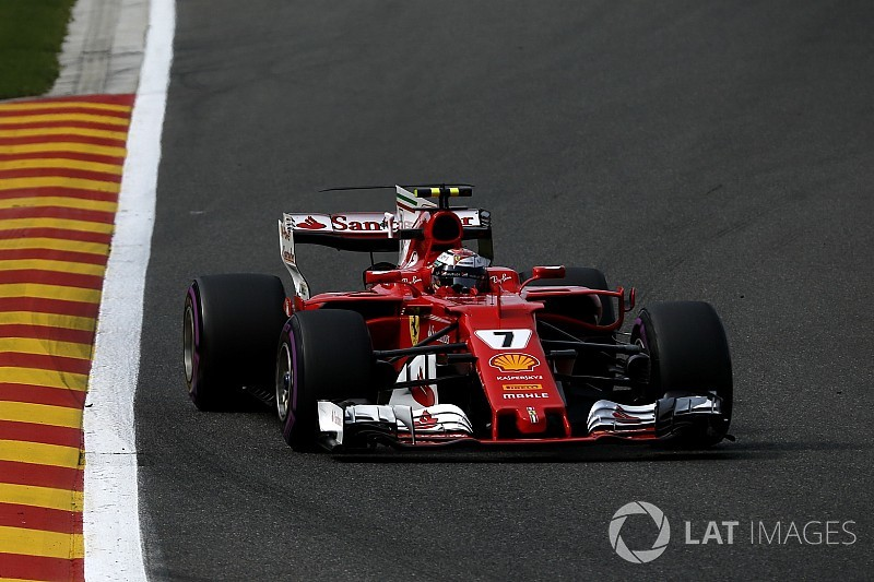 Formel 1 2017 in Spa: Ferrari vor Mercedes im 1. Training