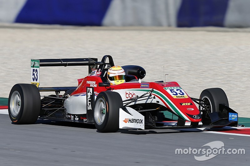 Ілотт закінчив лідером передсезонні тести Євро Ф3