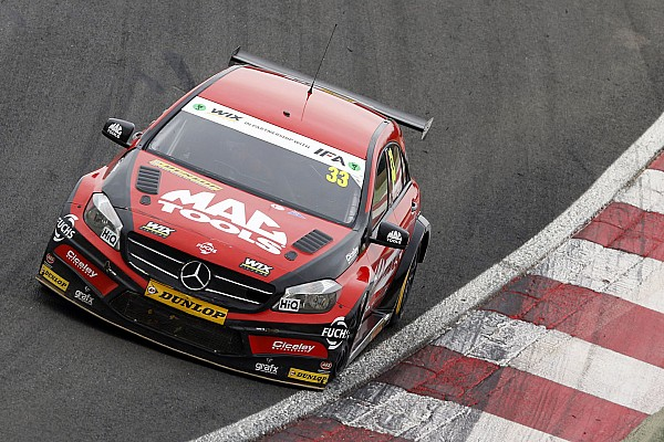 BTCC Race report Thruxton BTCC: Morgan takes point lead with win