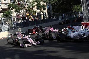 Formule 1 Nieuws Perez geeft Ocon schuld van aanrijding: