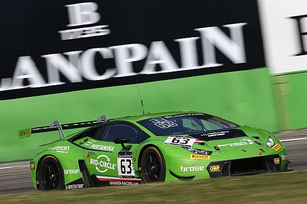 La Lamborghini del Grasser Racing centra il successo a Monza
