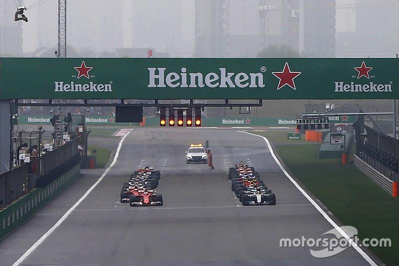 Red Bull quiere aclarar la normativa de salida tras la jugada de Vettel en China