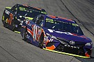 Denny Hamlin offers his theory on why Truex is so fast