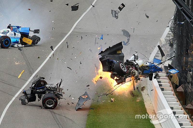Dixon resulta ileso de terrible accidente en Indy 500