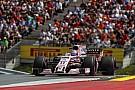 Pérez considera que estarán lejos de Red Bull en la carrera de Austria