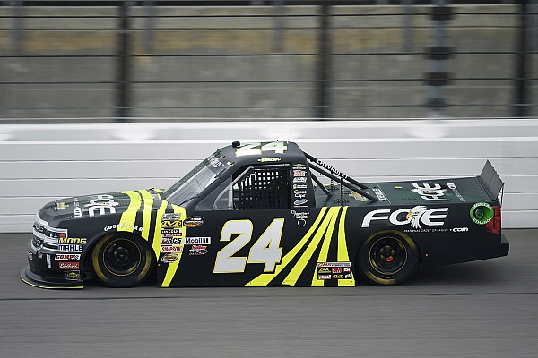 NASCAR Truck Breaking news GMS Racing Truck crew chief suspended for Charlotte infraction