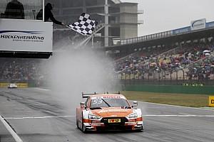 DTM Raceverslag DTM Hockenheim: Green oppermachtig tijdens regenachtige tweede race