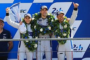 Le Mans Noticias de última hora Derani celebra su segundo sitio en LMGTE Pro: