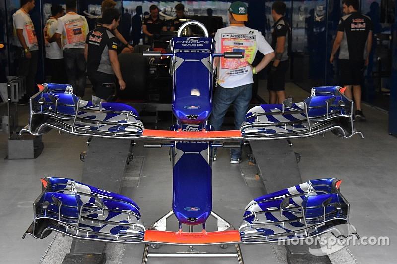 Toro Rosso: via un flap davanti e