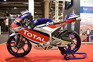 Ecco la nuova livrea del Junior Team Total Gresini Moto3 per il CIV 2019