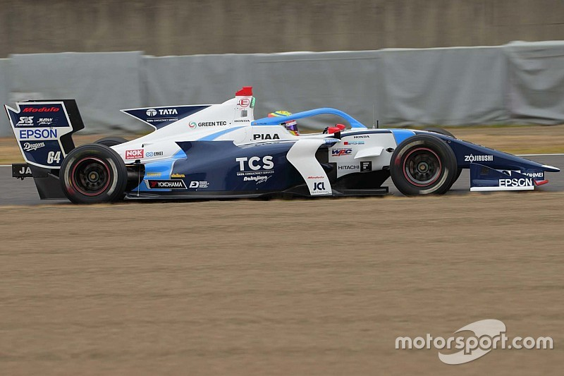 Palou breaks lap record on first day of Super Formula testing