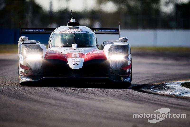 Toyota empieza mandando en los libres de Sebring