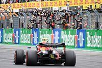 "Verstappen: ""Pérez se sacó a sí mismo de la carrera"""