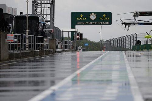 ¿Va a llover realmente en el GP de Hungría de F1?