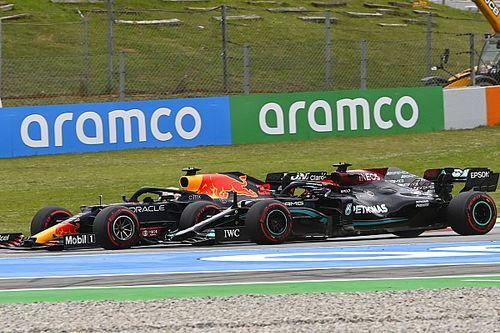"""F1 - Hamilton aprendeu muito sobre Verstappen na Espanha: """"Talvez mais que em todas as outras corridas"""""""