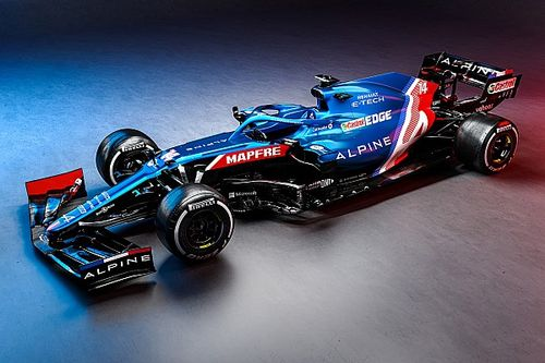 Alpine首款F1赛车A521亮相
