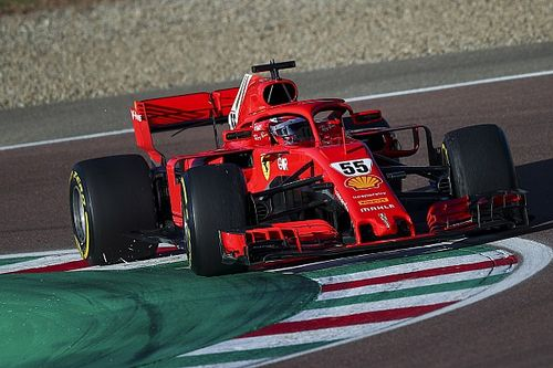 Sainz rondt tweede testdag bij Ferrari probleemloos af