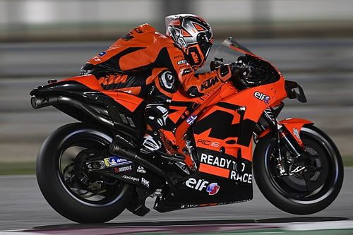 "Petrucci ""too big"" for KTM MotoGP bike"