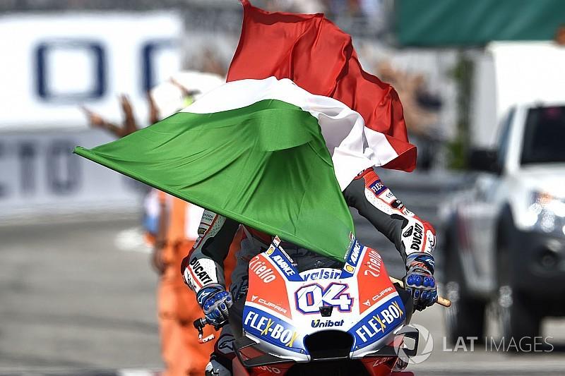 El semáforo del Gran Premio de San Marino