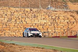 WTCC Test Aragón, un'altra giornata molto lunga e impegnativa per la Honda