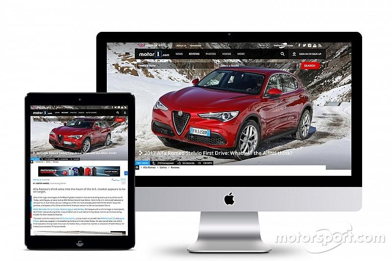 Motor1.com запускає нове видання у Сполученому Королівстві