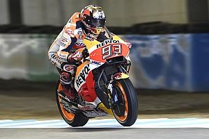 MotoGP Practice report Motegi MotoGP: Marquez leads delayed morning warm-up