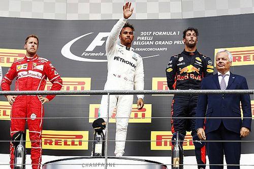 Alle Formel-1-Sieger des GP Belgien in Spa seit 2000