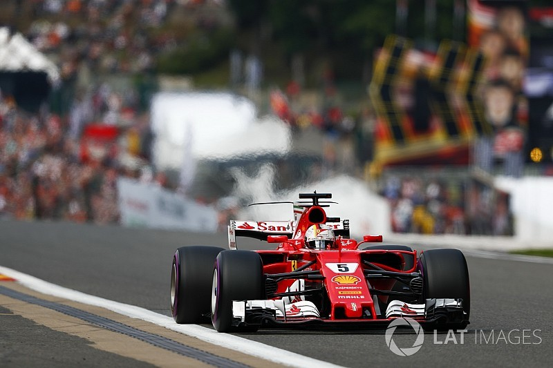 Onboard videón Vettel és a leggyorsabb kör a Belga Nagydíjról