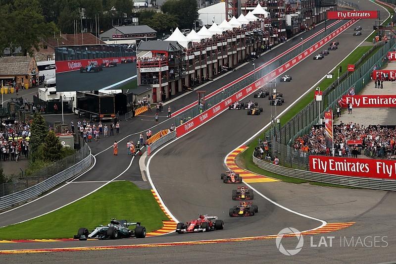 'Grand Prix van België drie jaar langer op F1-kalender'
