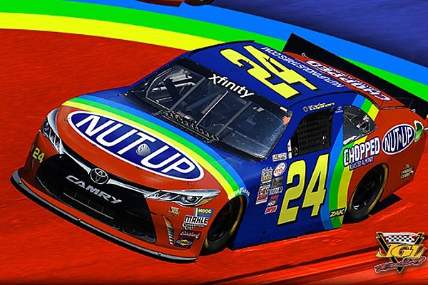 Lupton honors 'Rainbow Warriors' with Darlington throwback scheme