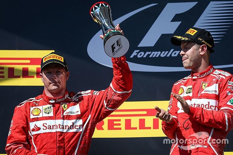 Arrivabene: Raikkonen, Vettel'i gerçek bir şampiyon gibi korudu