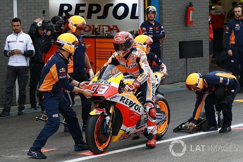 Маркес перестал рассчитывать на обновления Honda