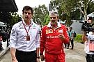 Wolff: donos da F1 precisam parar de provocar a Ferrari