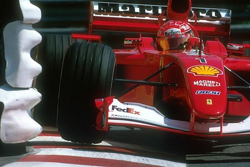 Le mitiche Ferrari di F.1: la F2001 campione già in Ungheria con Schumacher