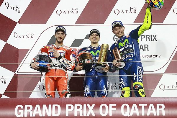 MotoGP Reporte de la carrera Viñales se impone en Qatar en un vibrante duelo con Dovizioso
