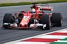 Vettel, Ferrari'nin geliştiğini düşünüyor
