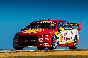 Supercars Qualifying report Perth Supercars: Coulthard leads Penske front row lockout