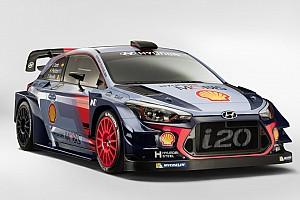 Hyundai revela el i20 de Sordo para el WRC 2017