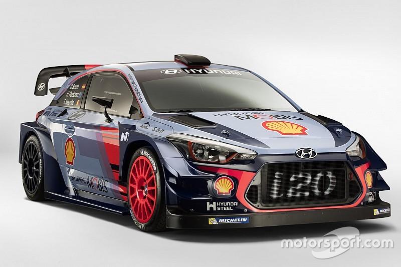 Hyundai luncurkan penantang WRC 2017