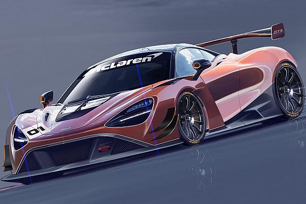 GT Важливі новини McLaren представить нову модель 720S GT3 для 2019 року