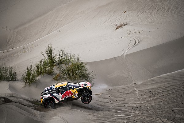 """Dakar Noticias de última hora Peterhansel: """"Estoy contento por Carlos; ha tenido muy mala suerte"""
