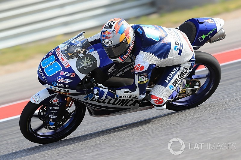 Moto3 Amerika: Pole position ke-10 bagi Martin