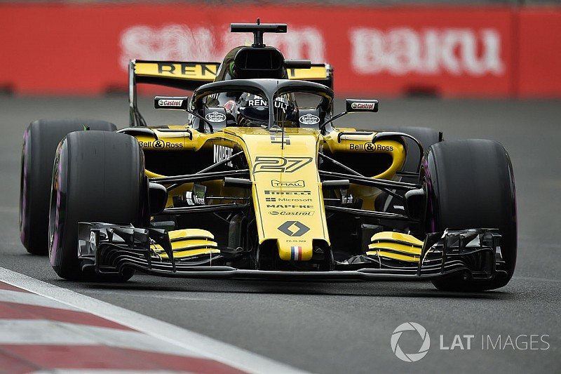 Hulkenberg set for gearbox change penalty in Baku