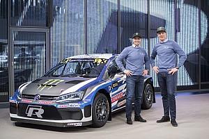 World Rallycross Son dakika Solberg'in Volkswagen destekli yeni Polo RX aracı tanıtıldı