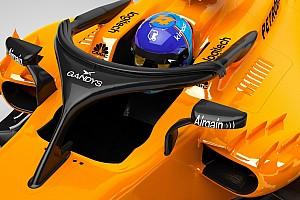 F1 速報ニュース マクラーレン、開幕戦限定で英国アパレルブランドのロゴをハロに掲載
