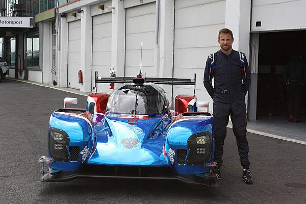 Button completes first test of SMP LMP1 car
