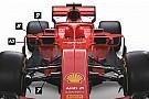 F1 Análisis técnico: las 10 sutilezas del Ferrari SF71H