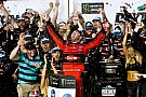 Daytona 500: Austin Dillon takes emotional win after chaotic last-lap